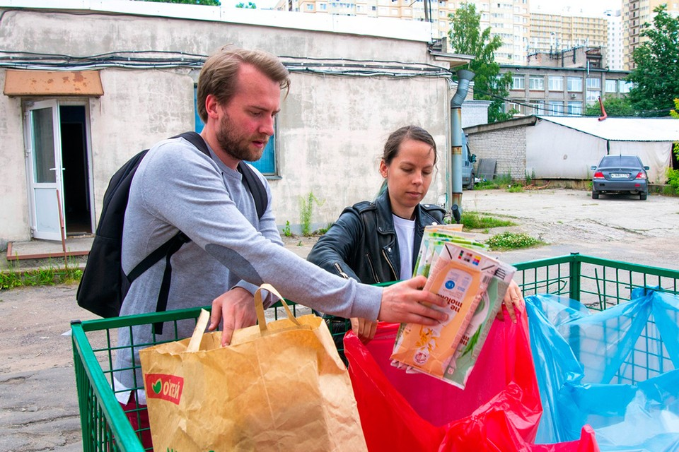 """Узнать, где находятся ближайшие к вам пункты раздельного сбора в Санкт-Петербурге, можно в интернете. Фото: Экологического движения """"Раздельный сбор"""""""