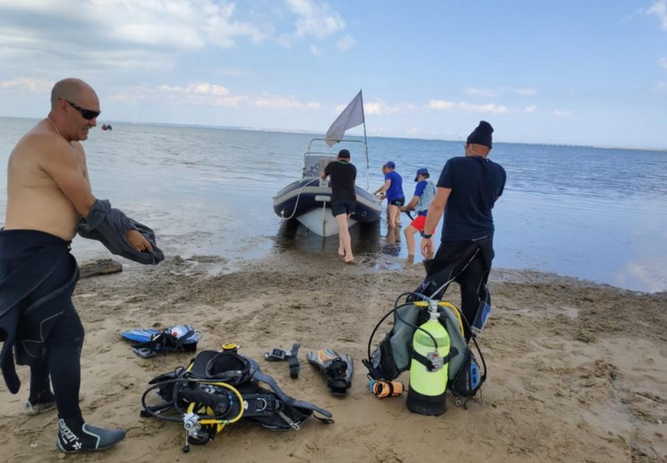Поиски бронемашины продолжаются. Фото: Андрей Коннов
