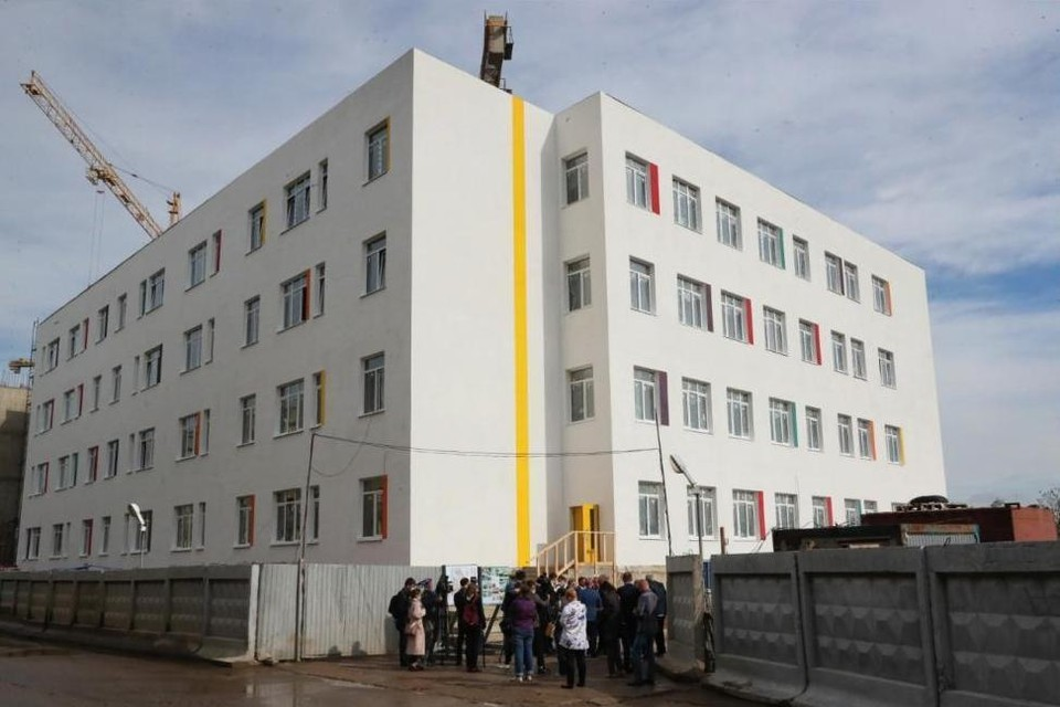 В Пушкинском районе идет строительство соцобъектов. Фото: gov.spb.ru