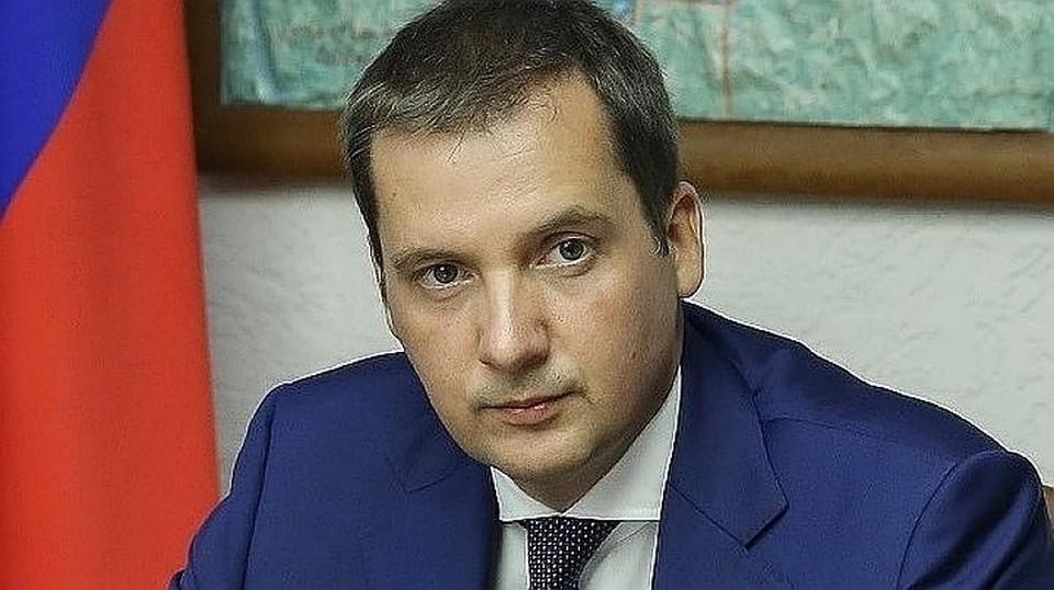 Александр Цыбульский. Фото предоставлено пресс-службой правительства Архангельской области