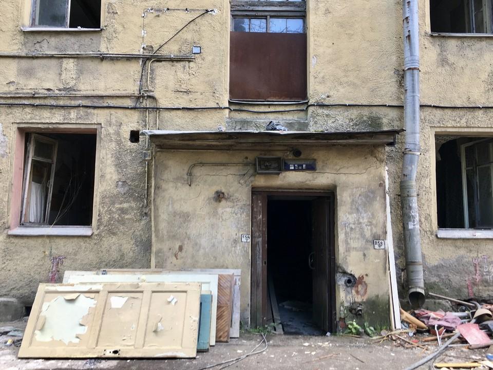 В заброшенных домах Кондратьевского жилмассива начали капремонт. Фото: kgiop.gov.spb.ru