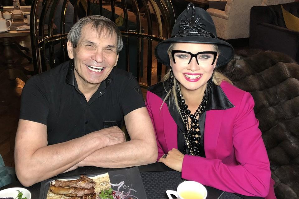 Лена Ленина и Бари Алибасов.