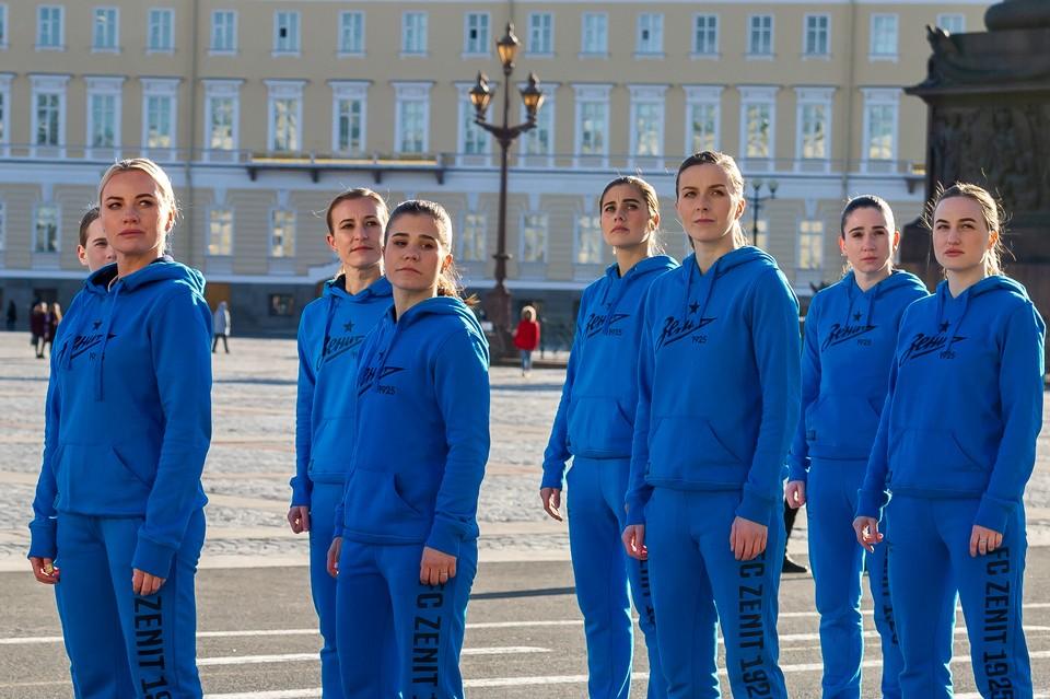 Женская команда «Зенит» 1 августа 2020 года проведет первый матч в своей истории