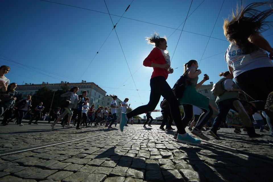 Ростовские бегуны стали участниками всероссийской акции.