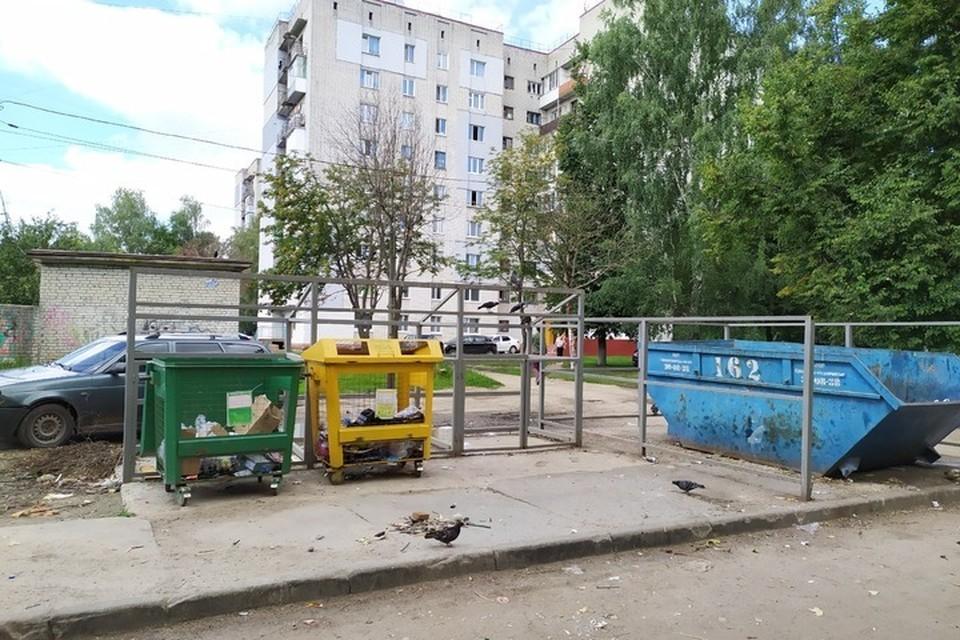 В Брянске на улице Крахмалева убрали свалку мусора.