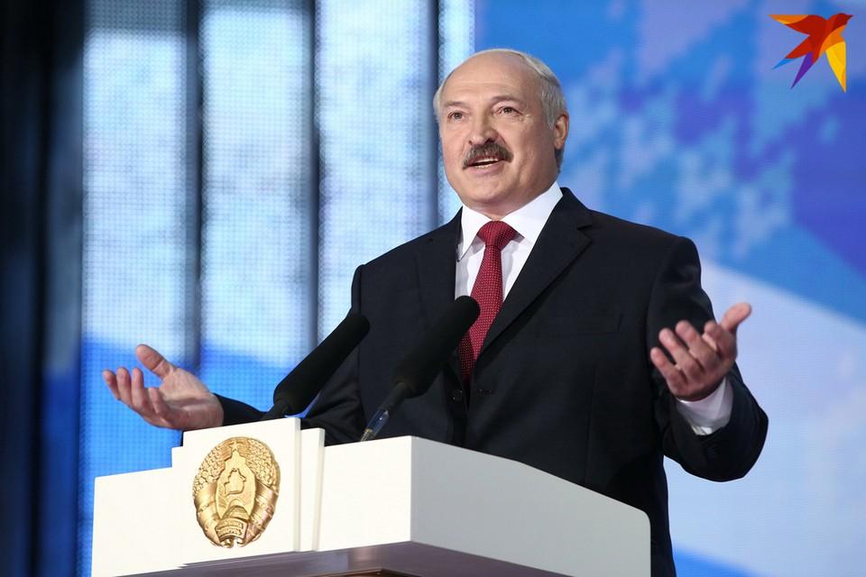 Александр Лукашенко обратился к белорусскому народу и парламенту.