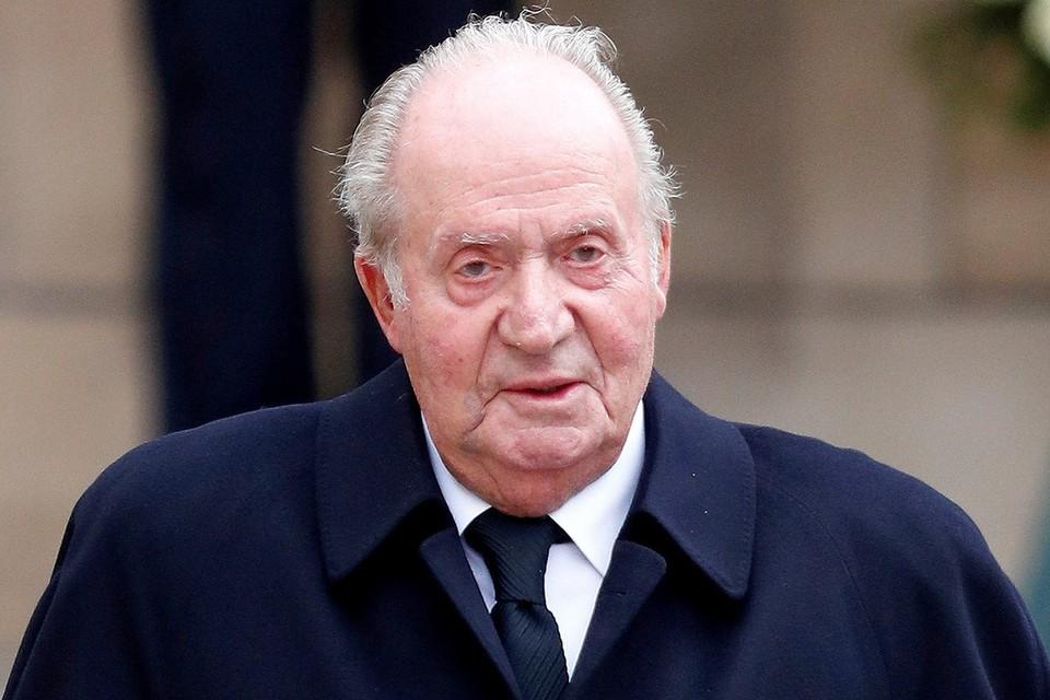 Хуан Карлос I отрекся от престола в 2014 году.