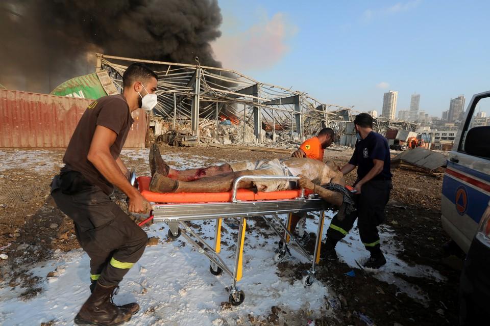 В больницах нет мест: число раненых при взрыве в Бейруте перевалило за тысячу