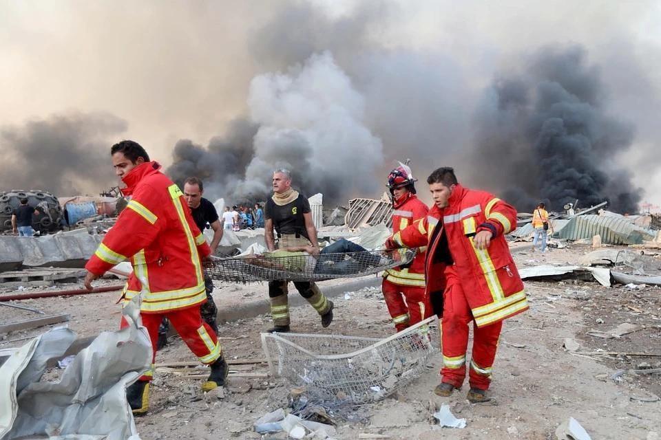 Взрыв в Бейруте произошел во время сварочных работ