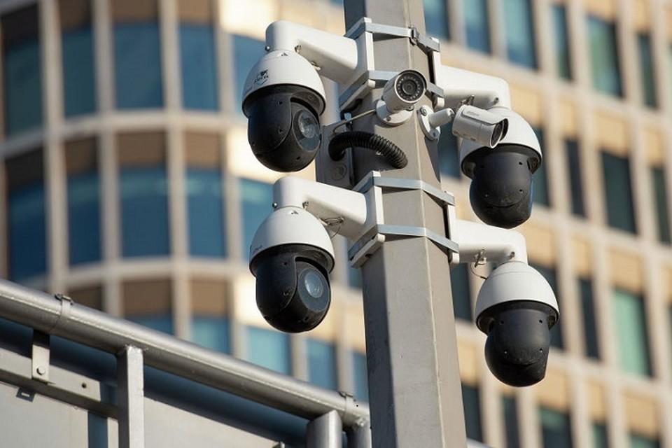 За шесть месяцев текущего года с помощью систем внешнего видеонаблюдения раскрыто 3,392 тысячи преступлений.