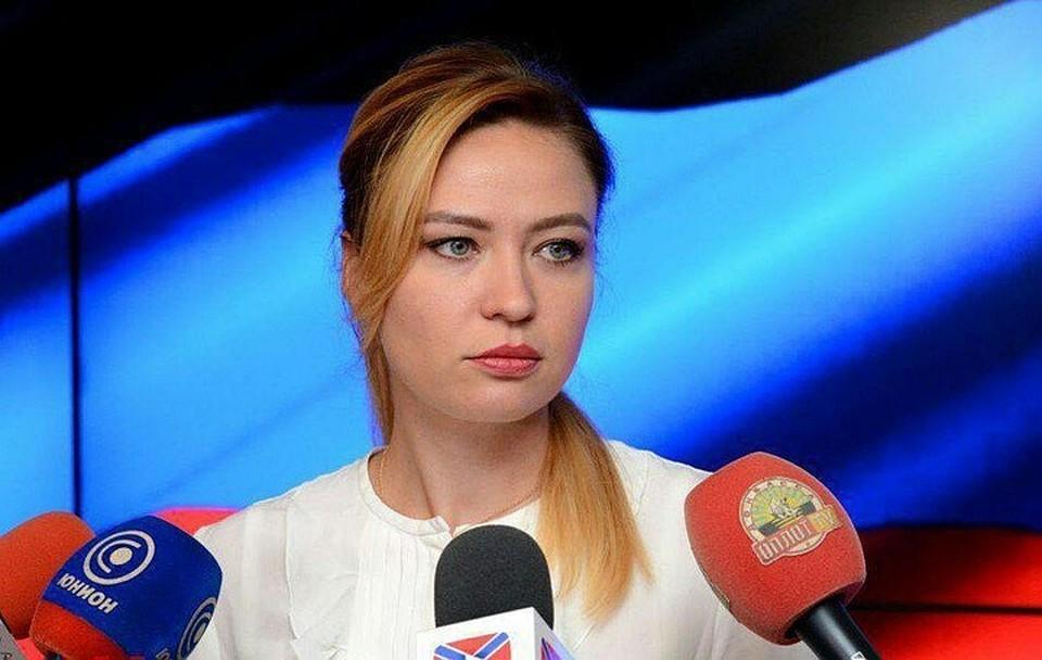 Глава МИД ДНР Наталья Никонорова. Фото: МИД ДНР