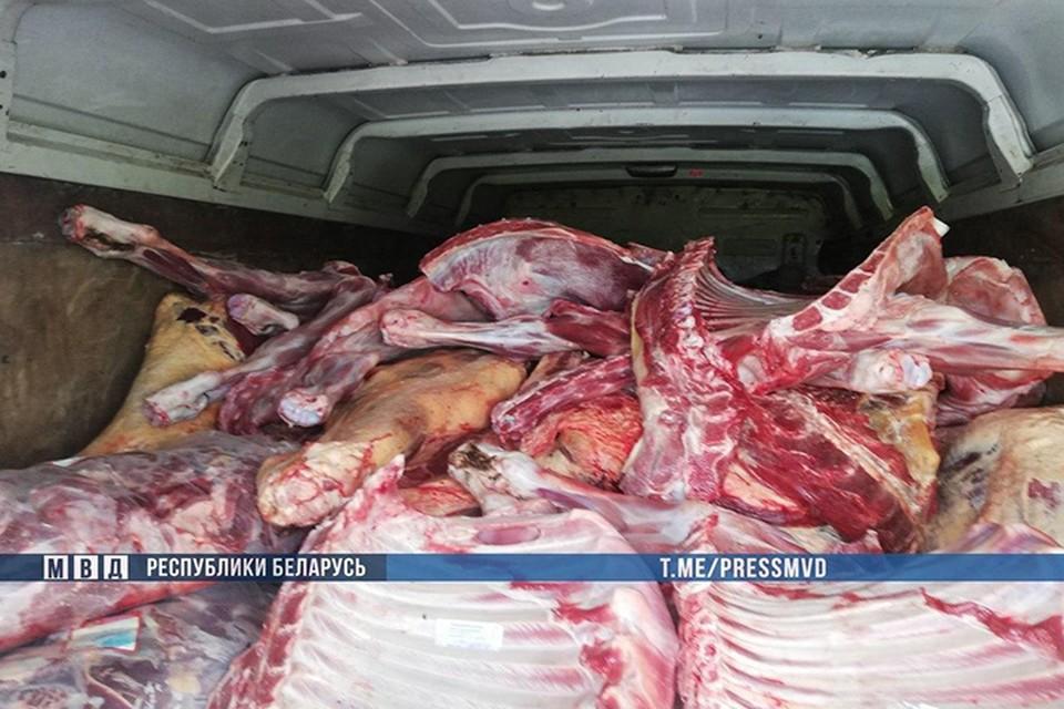 В Витебской области изобличили коррупционеров: они мошенничали с мясом крупного рогатого скота. Фото: МВД.
