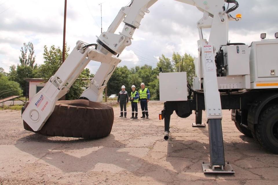 Работники управления грузопассажирских перевозок МГОКа уже оценили удобство мобильного комплекса