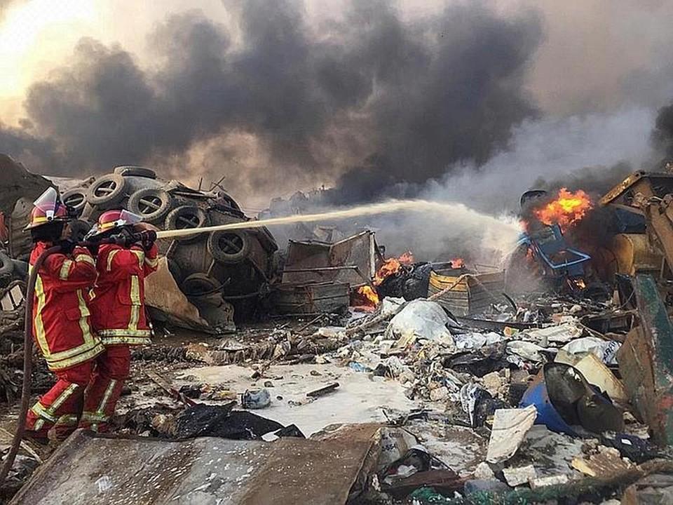 Минздрав Ливана опубликовал полный список жертв взрыва в Бейруте