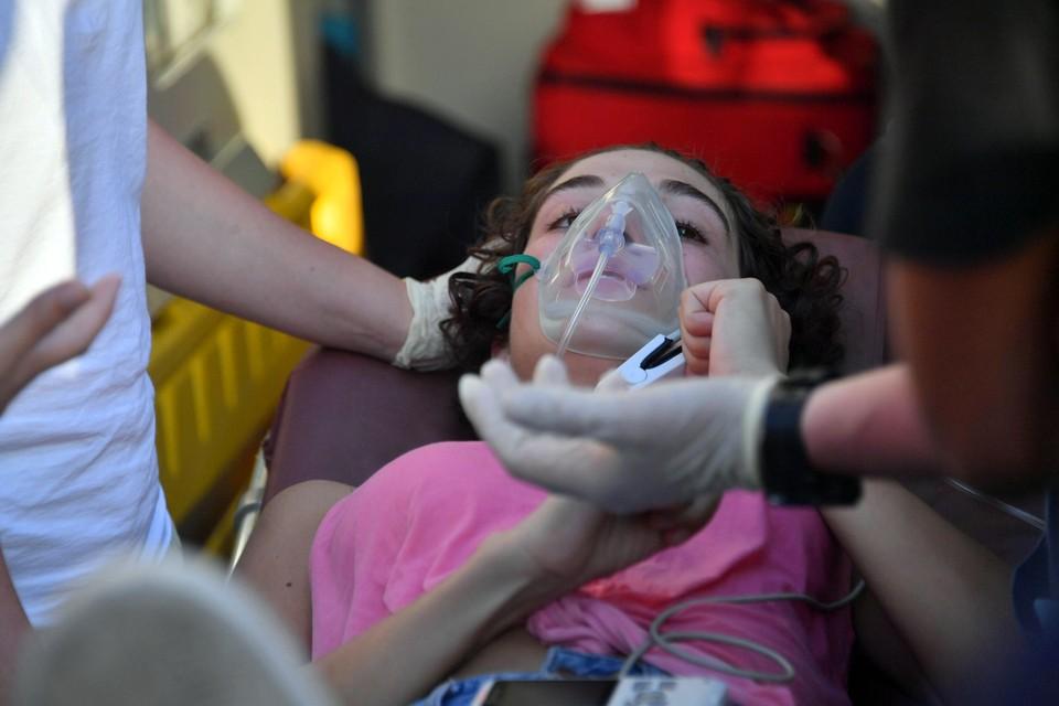 Российские врачи спасают пострадавших на протестах в ливанской столице