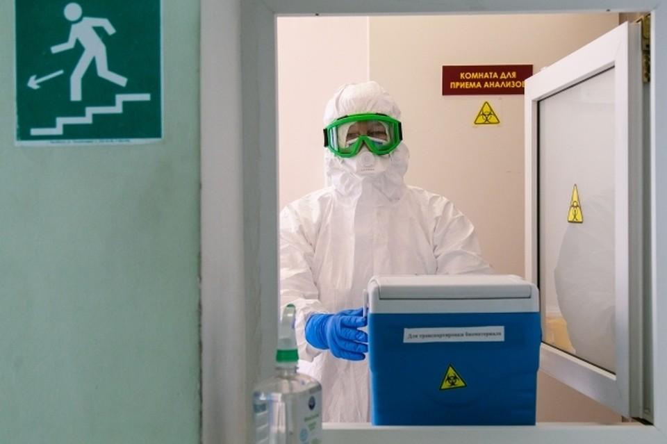 С начала эпидемии заболели 11 994 жителей области.
