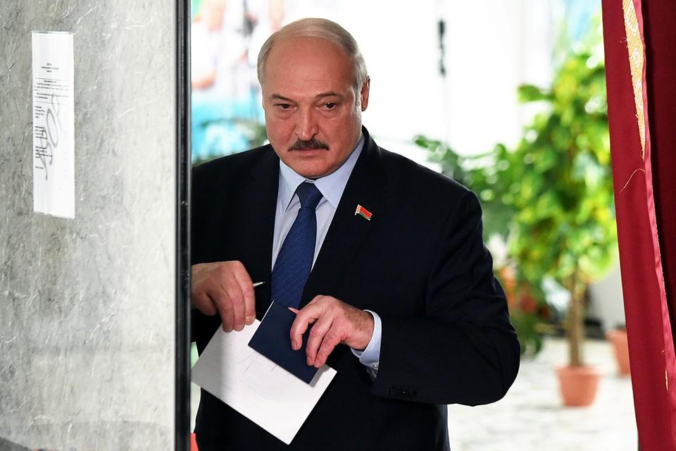Президент Белоруссии рассказал, что получил от Путина письмо