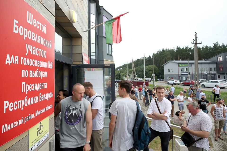 Чем сопровождались выборы президента Белоруссии в августе 2020 года. Фото: Наталия Федосенко/ТАСС