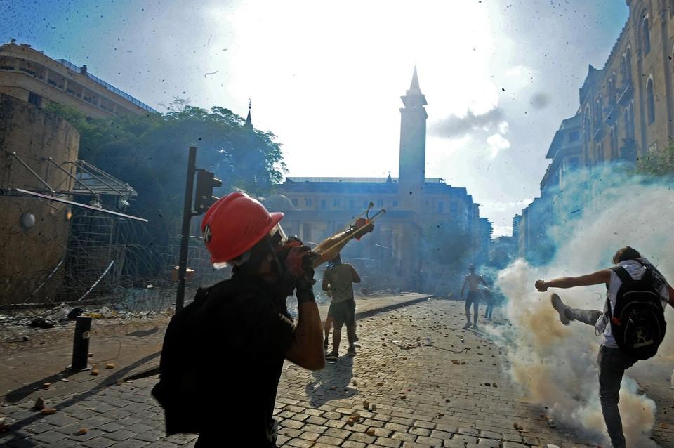 К наведению порядков на улицах Бейрута подключилась ливанская армия