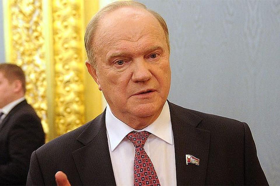 Лидер КПРФ Геннадий Зюганов - об избирательной кампании Александра Лукашенко