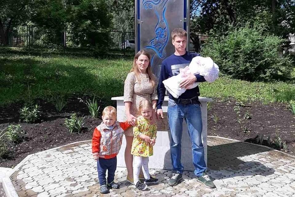 Последний ребенок появился в семье Кузнецовых лишь в июне этого года