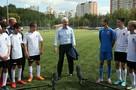 В Москве построят 5 футбольных полей с подогревом