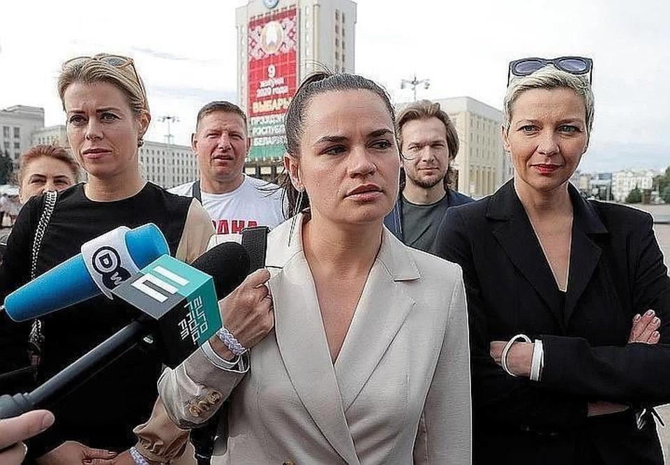 Светлана Тихановская вышла на связь со своим штабом
