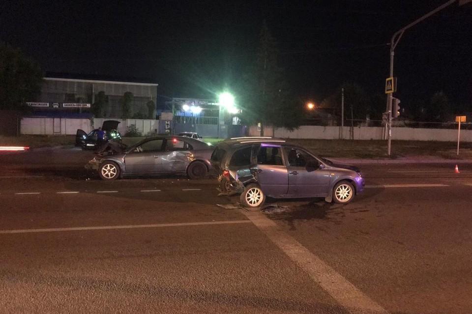 ДТП с пятью пострадавшими под Липецком