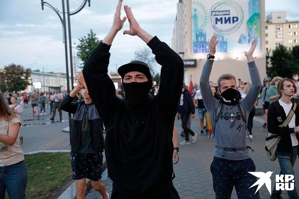 Протесты в Белоруссии идут уже не первый день.