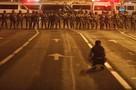 Минск на третий вечер после выборов: Город заполонил ОМОН