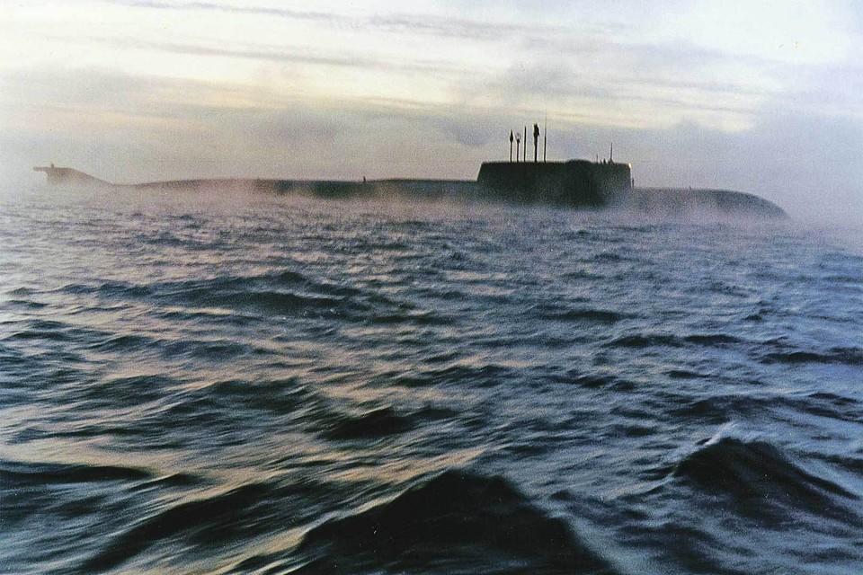 Первые испытания «Курска» в море прошли в 1994 году. Фото: Игорь КРЯЖЕВ/ТАСС