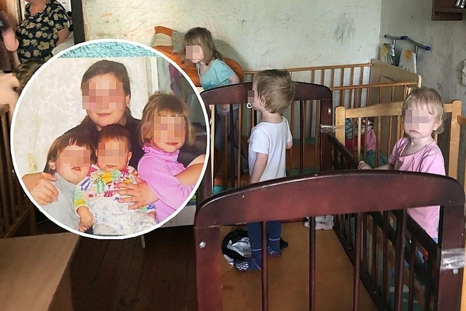 Дети остались в квартире одни, мама смогла попасть внутрь только благодаря спасателям. Фото: личный архив.