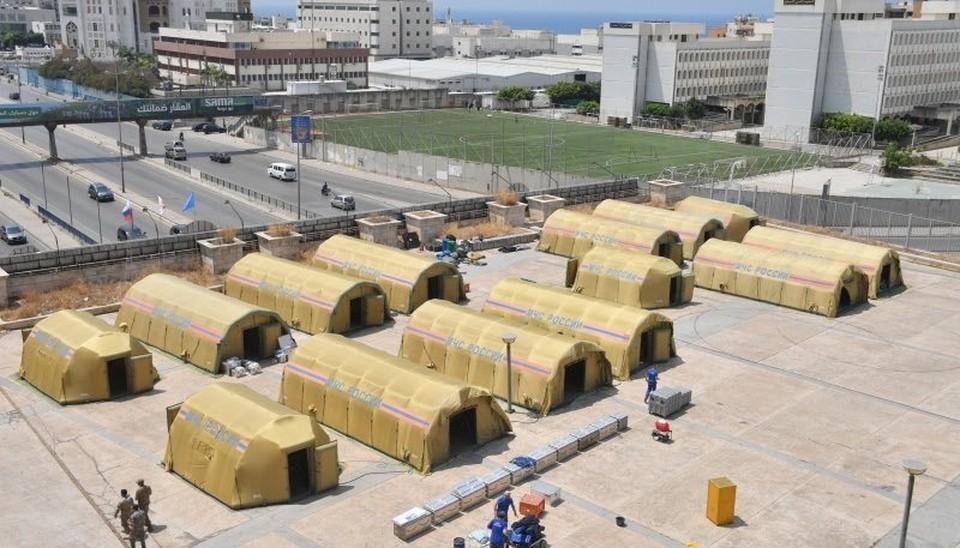 Российские спасатели завершили работы в порту Бейрута