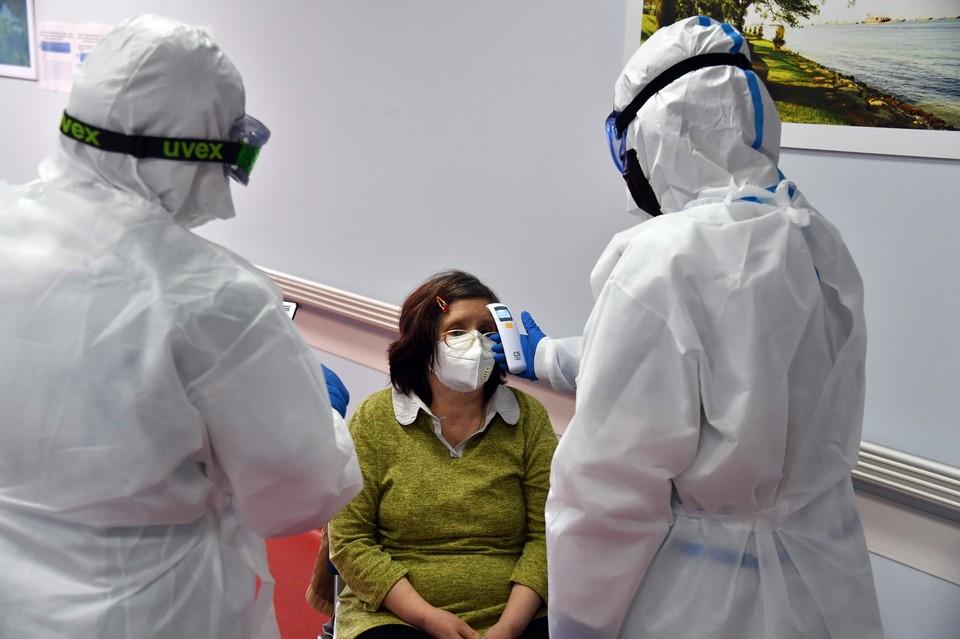 С начала эпидемии в Приморье выявлено 8164 случая заражения коронавирусной инфекцией