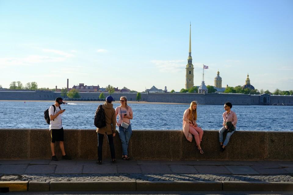 Солнечно и тепло будет в Петербурге в пятницу, 14 августа.