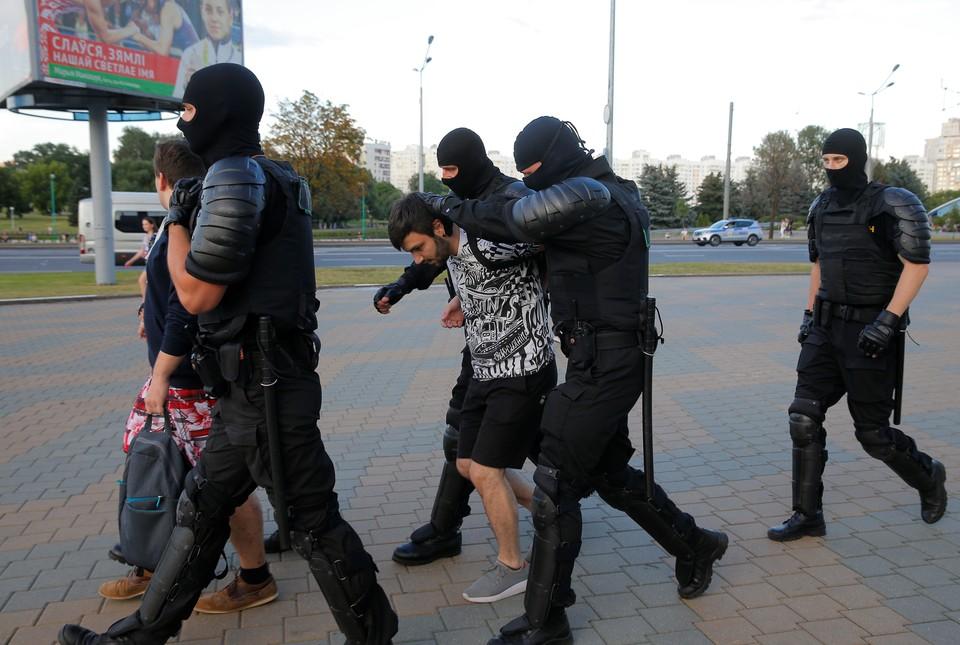 Акции протеста начались после выборов президента