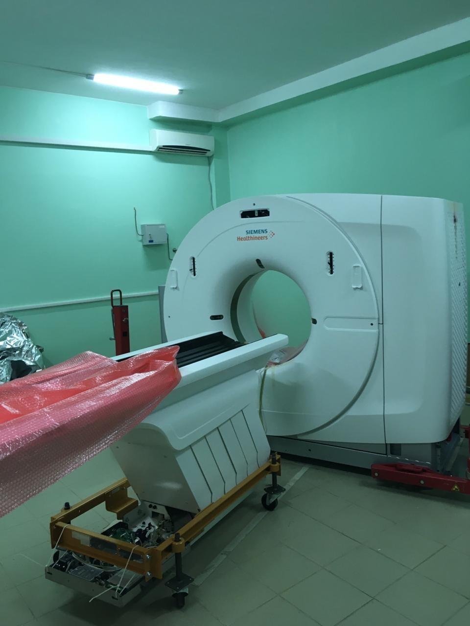 Новый КТ-томограф за 34 миллиона рублей заработает в Кстовской больнице. Фото: Министерство здравоохранения Нижегородской области