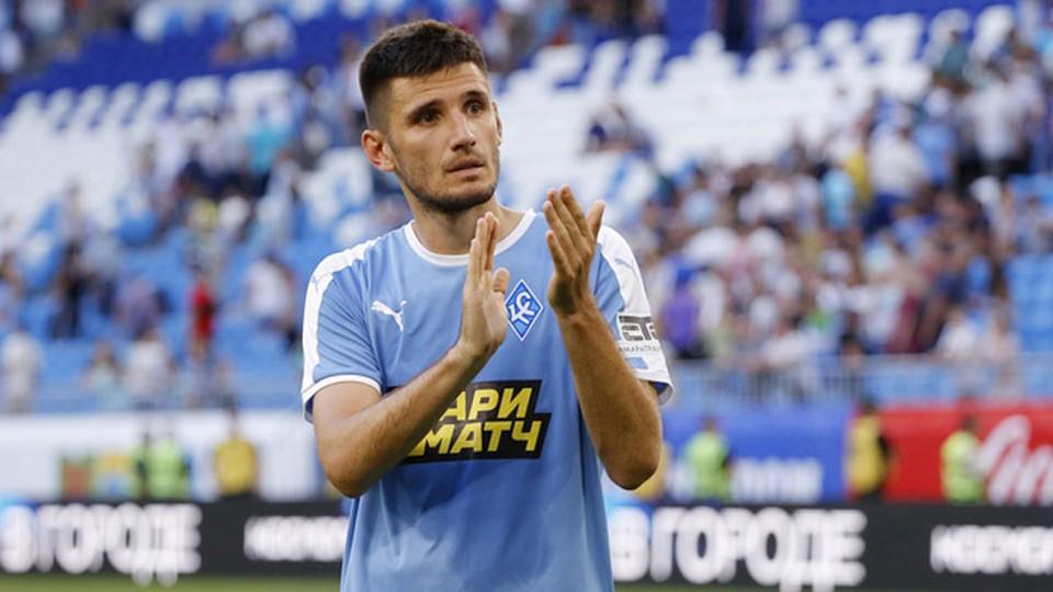Тарас Бурлак провел за самарцев 90 матчей и отметился 6 голами