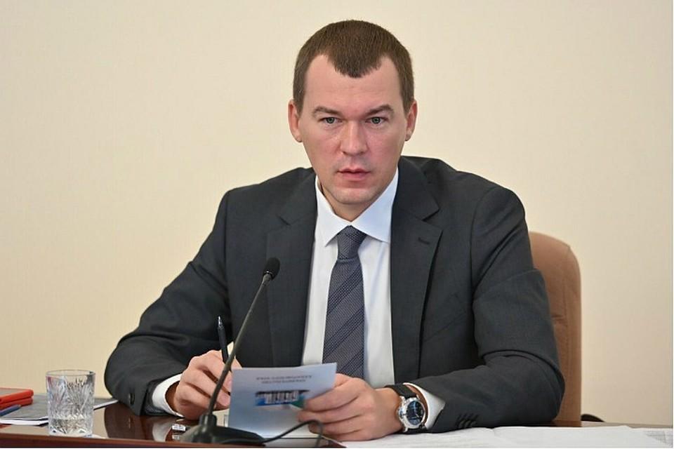 Михаил Дегтярев после проверки одной из поликлиник края принял решение об отставке министра здравоохранения