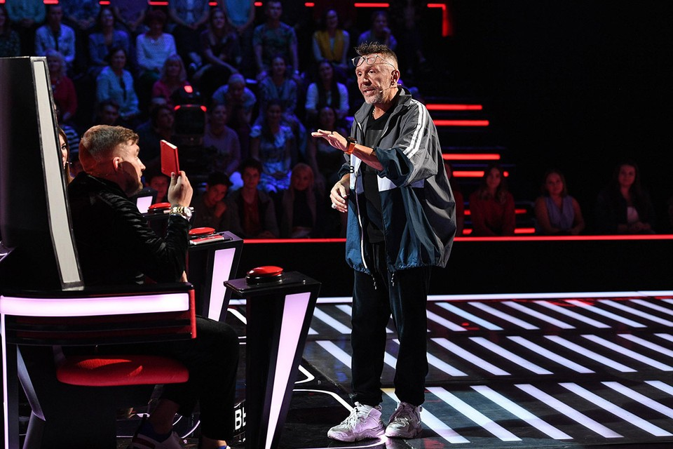 Сергей Шнуров, что несколько раз признавался лучшим тренером вокального шоу. Фото: Максим Ли