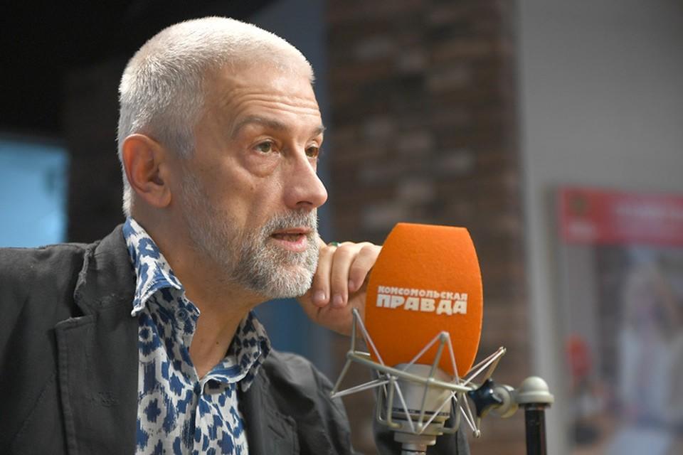 Худрук МХАТа Эдуард Бояков в гостях у Радио «Комсомольская правда».