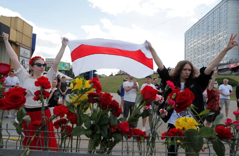 В соседней Белоруссии не утихают протесты