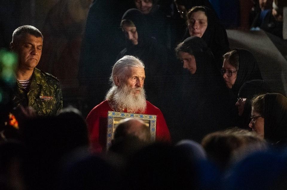 Отец Сергий намерен держать оборону монастыря