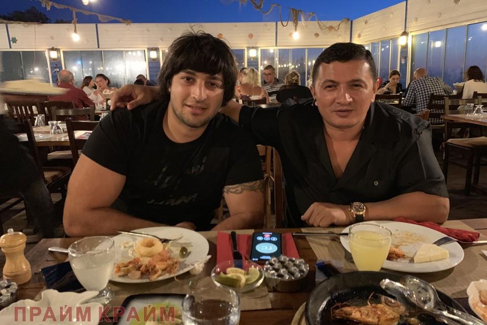 Гули и его будущий убийца Хаган Зейналов, 2019 год. Фото: www.primecrime.ru