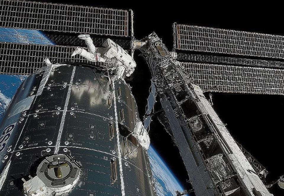 На МКС обнаружена утечка воздуха