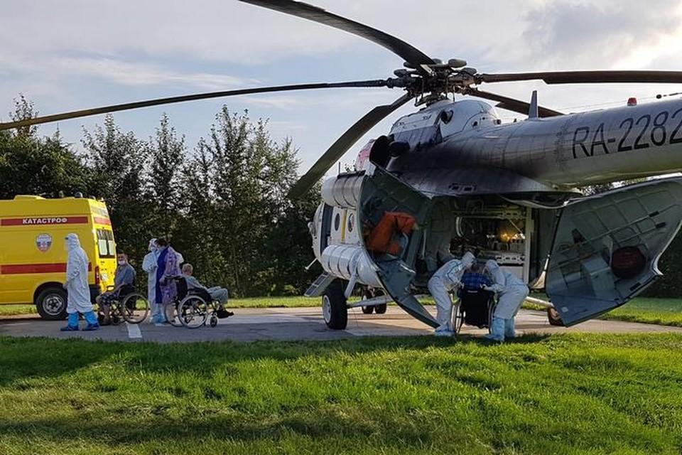 Часть обитателей комсомольского интерната для престарелых, где произошла вспышка COVID-19 доставили в Хабаровск