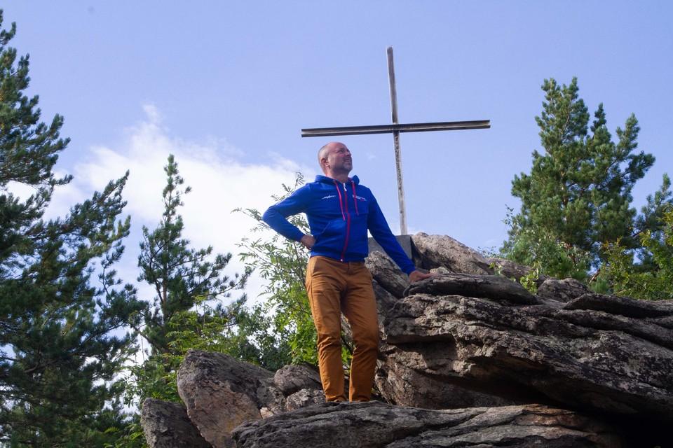 Вершина горы Церковки покорена.