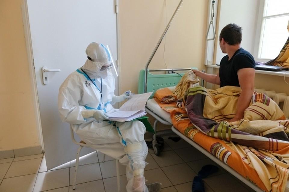 К волгоградских больницах еще остаются на лечении сотни ковидных пациентов.