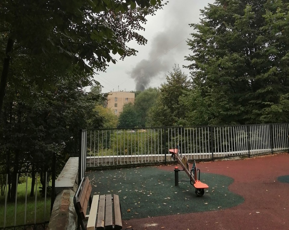 При взрыве газа на западе Москвы пострадали четыре человека. Фото: соцсети