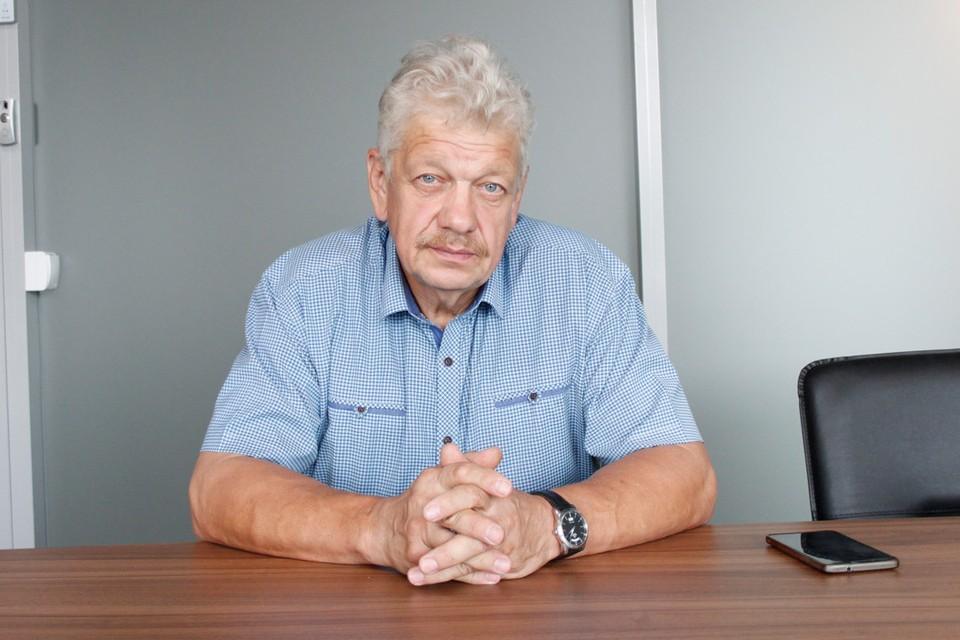 Руководитель Центра поддержки экспорта Новосибирской области Сергей Иванов.